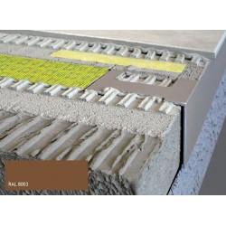 Durabal BW L-Form Aluminium pulverbeschichtet braun 250cm