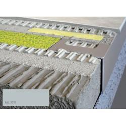 Durabal BW L-Form Aluminium pulverbeschichtet grau 250cm