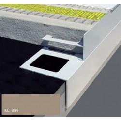 DURABAL BS T-Form Aluminium pulverbeschichtet beige 250cm