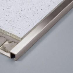 Duraplus Rechteckprofil Edelstahl V2A hochglanzpoliert L. 2,5m